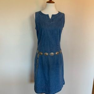 Vintage Denim Cherokee Dress